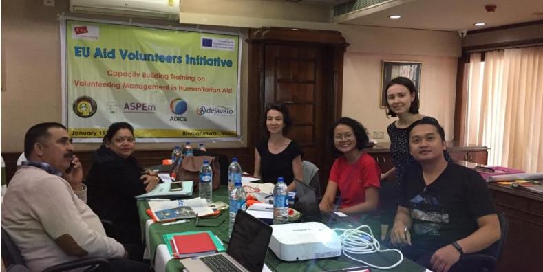 Training Course EU Aid Volunteer in Bhubaneswar, India